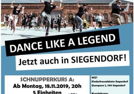 Rock the Billy Schnupperkurs in Siegendorf